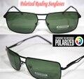 !! Polarizadas gafas de lectura gafas de sol!! Marco negro Lente Verde de doble haz mejorada polarizadas de los hombres gafas de sol + 1.0 + 1.5 + 2.0 + 2.5 a + 4