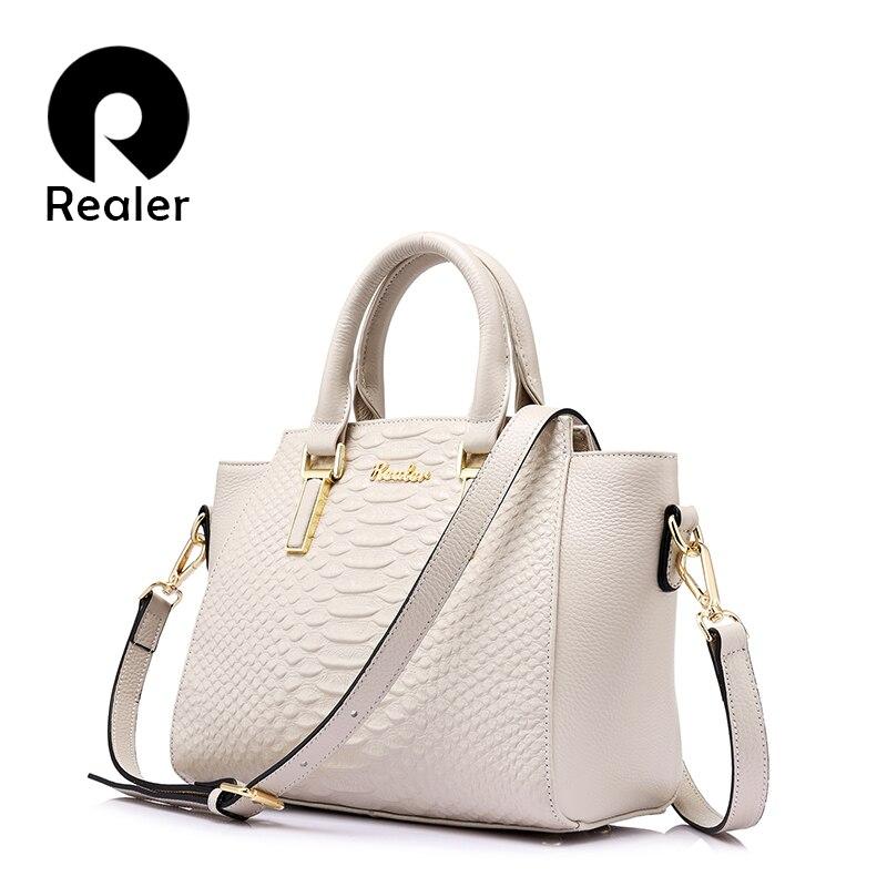 Realer модный бренд женские роскошные сумки женские сумки дизайнер сумка натуральная кожа сумка известные бренды сумки 2017