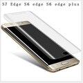 S7 Край 3D Изогнутые Изогнутый Полный Охват Мягкая Пленка ПЭТ Экран протектор Для Samsung Galaxy S7 S7 Edge S6 Edge чехол фильм