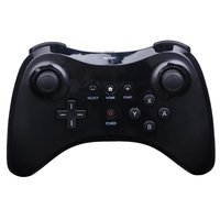 Hot High Quality Black White Wireless Classic Pro Controller Gamepad For Nintendo For WiiU USB