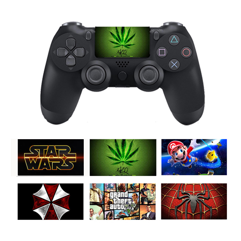 Custom PVC Touch Pad Vinyl Stickers For Sony Dualshock 4 PS4 Pro/Slim Controller Touchpad Protective Skin