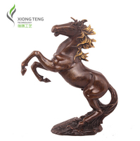 free shipping 419sales Genuine Pure New arrival copper horse decoration feng shui home decoration statue
