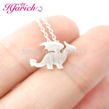 Hfarich Dragon Necklace Dinosaur Pendant Necklace Dragon Pendants Vintage Necklace For Men women Jewelry Dropshipping Wholesale