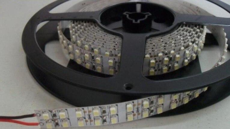 Free Shipping 240 <font><b>leds</b></font> per meter double roll 3528 <font><b>led</b></font> strip light CRI 80 SMD3528 strip <font><b>led</b></font> lights 3 Years warranty