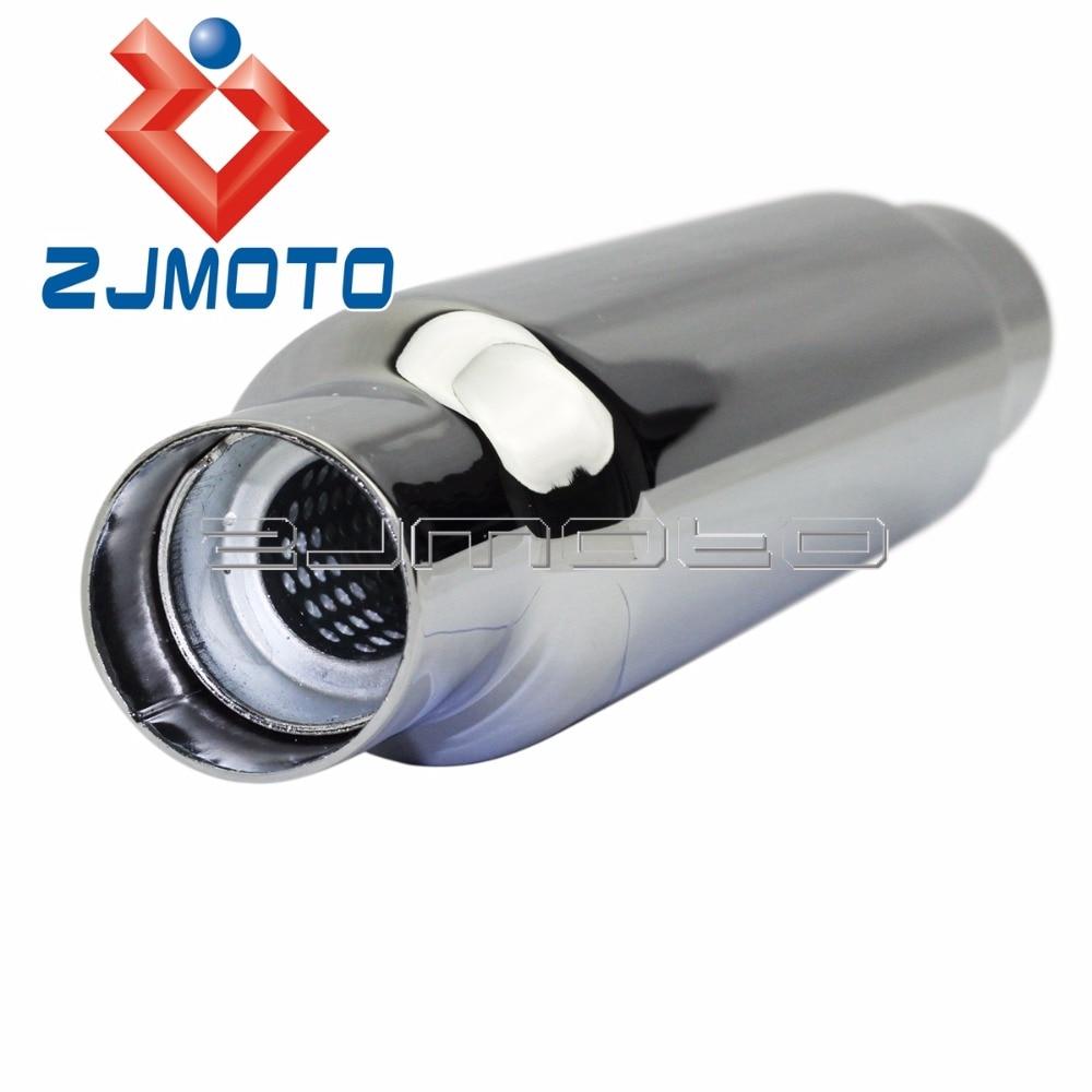 Yamaha Suzuki shorty universal muffler
