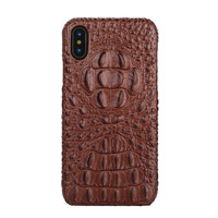 5 Color Vintage Retro Genuine Natural Cowhide Back Cover For IPhone8 Real Cow Skin Phone Case