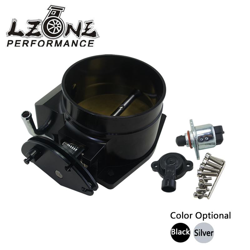 LZONE RACING - 102mm throttle body + TPS IAC Throttle Position Sensor for LSX LS LS1 LS2 LS7  цены