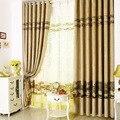 Синель классический китайский стиль высококлассные занавески для спальни