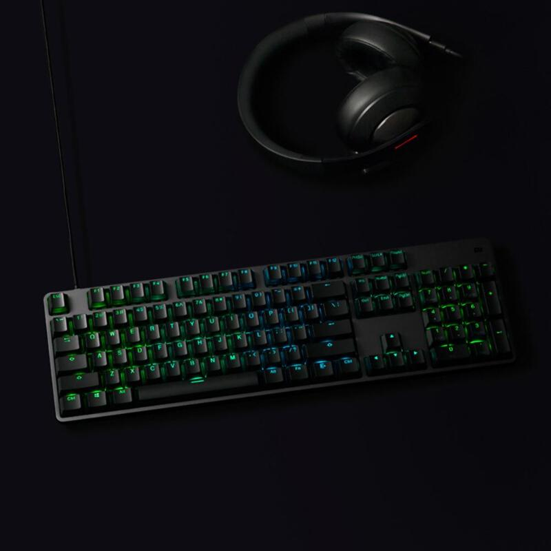 Image 4 - Xiaomi RGB Backlight 104Keys USB Wired Gaming Keyboard for PC Laptop Desktop high quility Xiaomi Keyboard for gaming working new-in Keyboards from Computer & Office