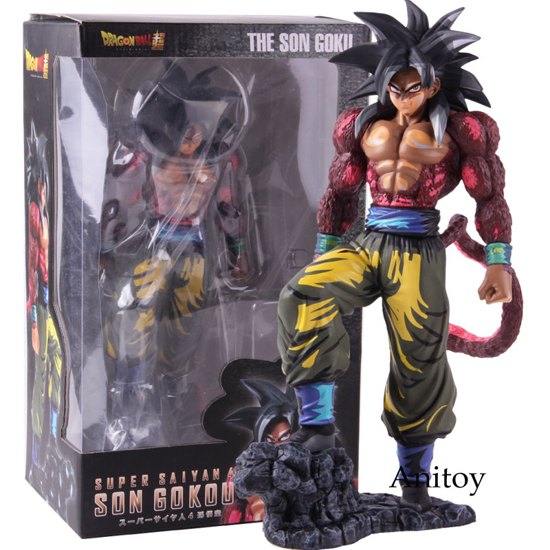 Dragon Ball Super Saiyan 4 Son Gokou Son Goku Manga Dimensions Version PVC Statue Figure Collectible Model Toy