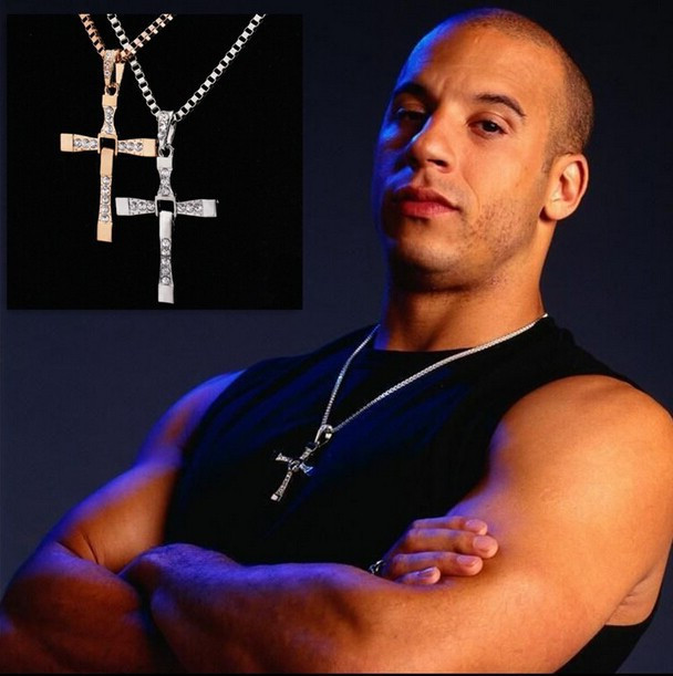 Necklaces & Pendants for Men 3D movie Fast and Furious 7
