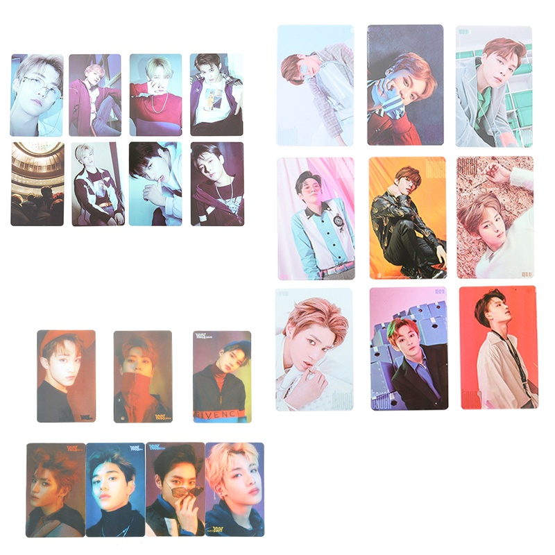 Office & School Supplies 7/8/9pcs/set Kpop Nct U 127 Boss Album Transparent Photo Card Taeyong Mark Self-made Pvc Lomo Cards Photocard With The Best Service School & Educational Supplies