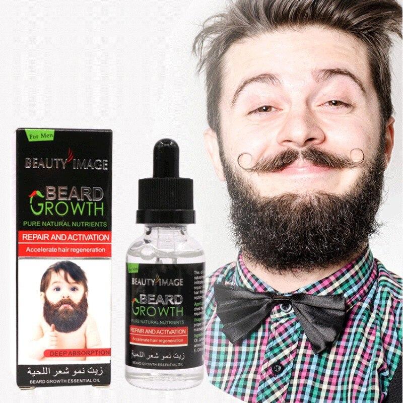 40ml Gentleman Sexy Beard Mustache Chest Hair Growth Essence Oil Liquid Thicker Enhancer Moisturizer Thick Lengthening