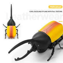 Electric Beetles Pets Insects Uang Lights Voice Action Move Lifelike S