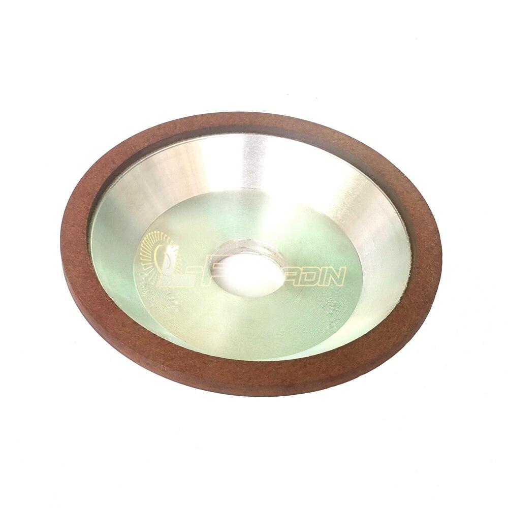 Dia 6 in Bowl Shaped Resin Diamond Abrasive Wheel Tungsten Steel Alloy font b Knife b