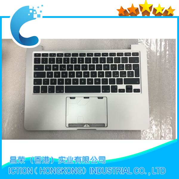 Original Topcase with Italian IT tastiera Keyboard Layout A1502 For Macbook Pro 13