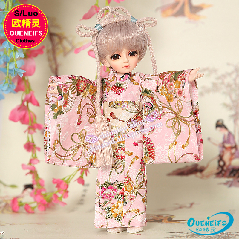 OUENEIFS free shipping customization original clothes skirt 1/6 girl kimono send shoe classic style have not bjd sd doll or wig