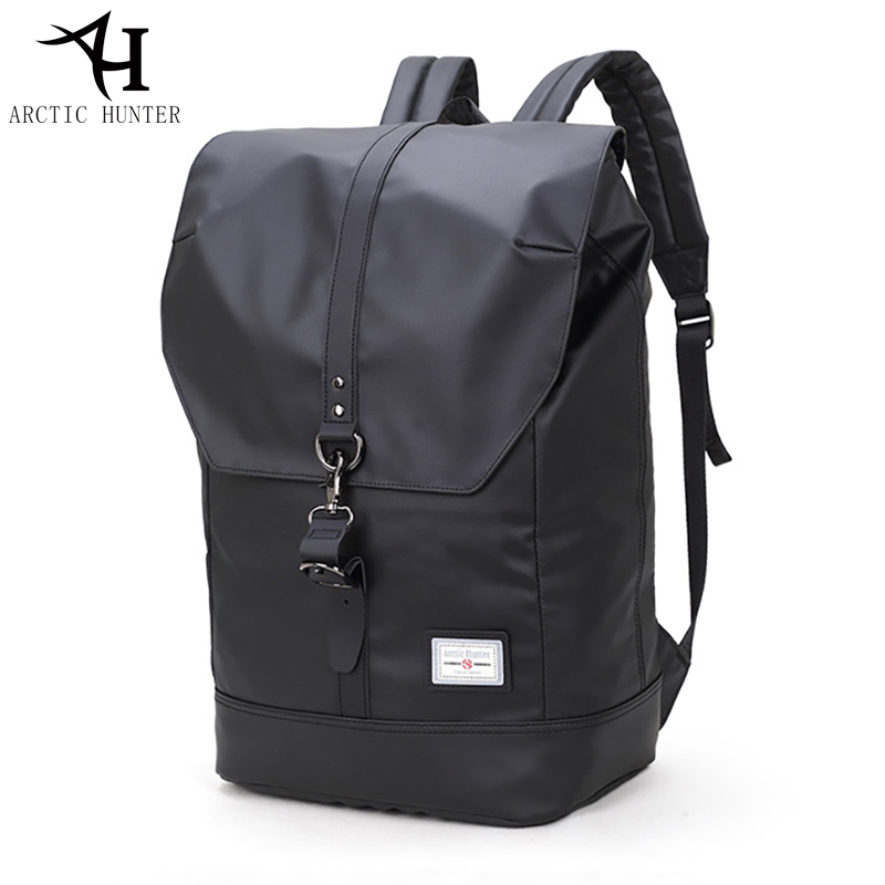ARCTIC HUNTER Student School Backpack Men 15.6 Inches Laptop Backpack Casual Travel Bag Male Waterproof Back Pack Mochila Hombre arctic hunter high quality design anti theft hasp back pack bag waterproof backpacks school men casual mochila escolar menino