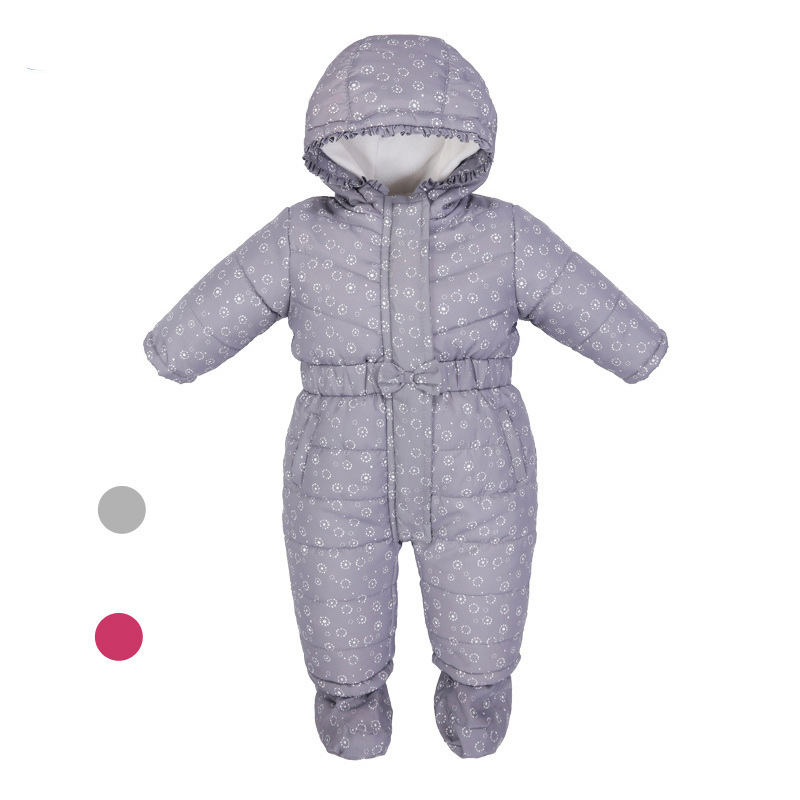 ФОТО New Born Baby Clothes Babygirl Rompers Newborn Infant Winter Clothing Costume Unisex 1st Birthday Outfits Warmer Boys Jumpsuit