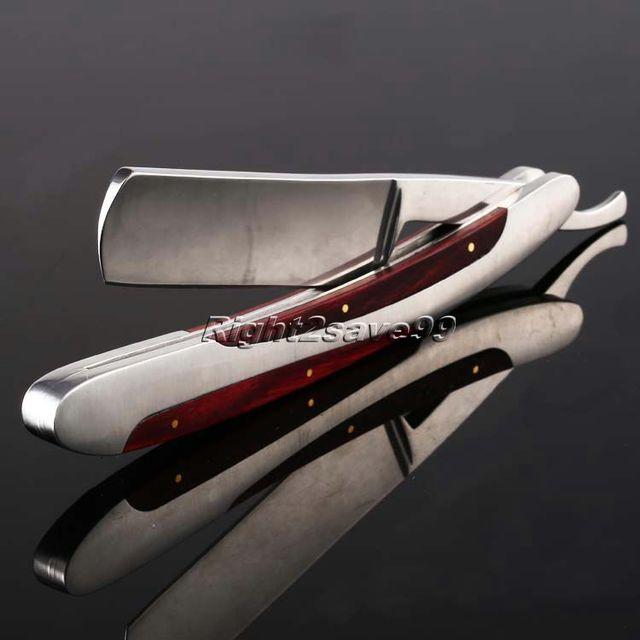 Barber Razors Shaving Knife Folding Straight Edge Stainless Steel Shaper Barber Razor Folding Shaving Knife Scheermes Kapper