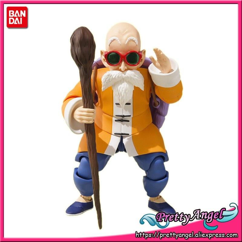 PrettyAngel - Genuine Bandai Exclusive S.H.Figuarts Dragon Ball Kame Sennin (Master Roshi) Action Figure