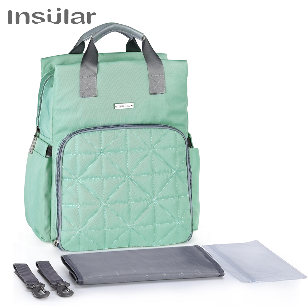 Insular New Fashion Diaper Bag Backpack Large Capacity Baby Bag Nappy Bag For Baby CareInsular New Fashion Diaper Bag Backpack Large Capacity Baby Bag Nappy Bag For Baby Care