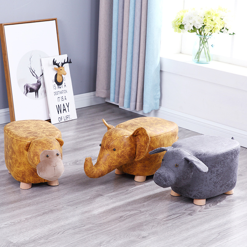 Wooden Rushed No New Pouf Poire Taburetes Chair Wood Stools Stool Shoes Animal Designer Furniture Sofa Storage Containing Modern