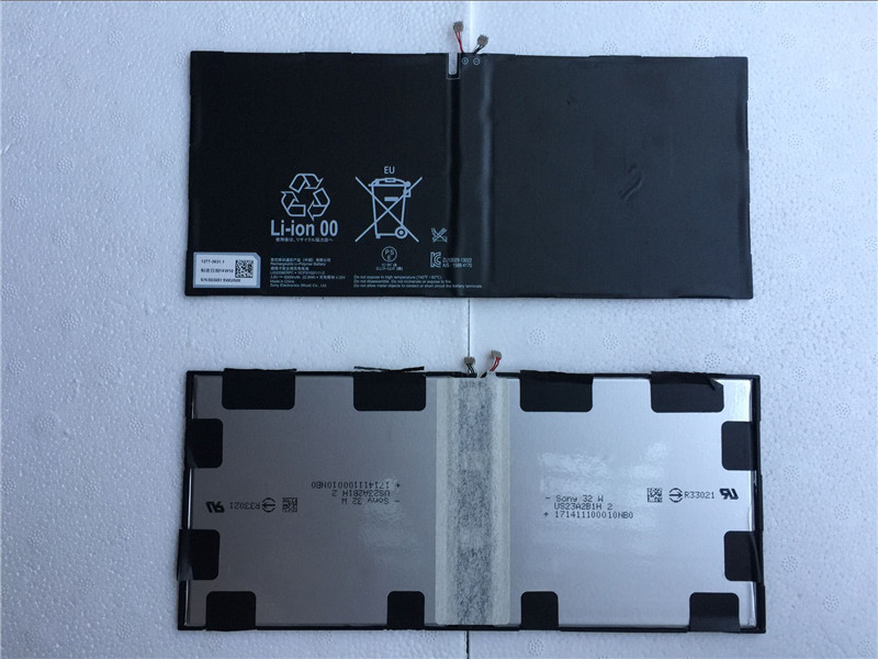 Para SONY Xperia Z2 Tablet SGP511 SGP512 SGP521 SGP541 SGP551 3,8 V 6000 mAh 22.8WH LIS2206ERPC Tablet batería