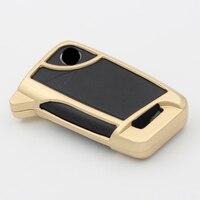 Car Accessories Zinc Alloy Auto Key Case Cover Bag Holder Shell for Skoda Octavia Superb Touran 2016 Golf Sportsvan Anti drop