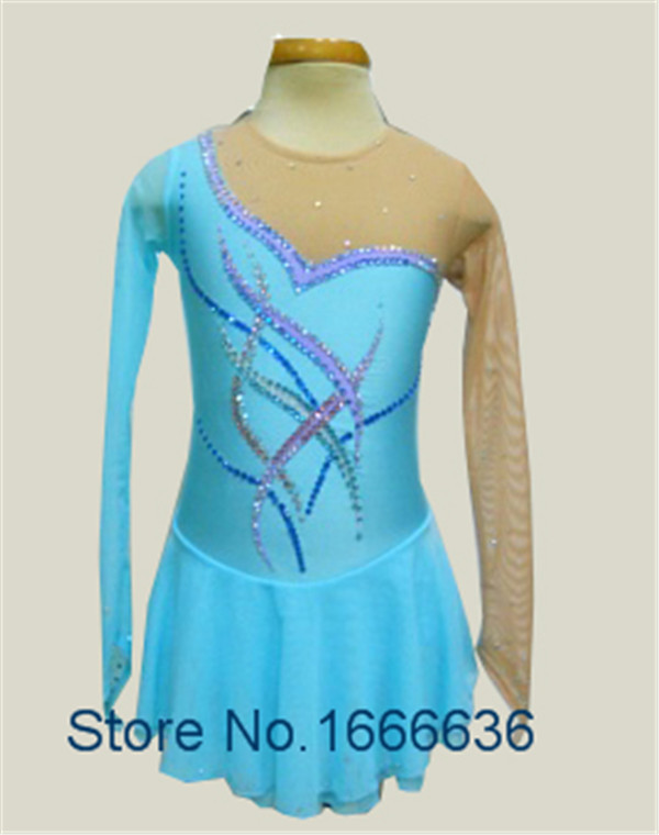 Custom Adult Figure Ice Skating Dresses With Spandex  Graceful New Brand Figure Skating Dress For Competition DR2741