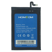 IN Stock NEW 5500mAh For HOMTOM HT50 Battery Cell Phone Tracking Number