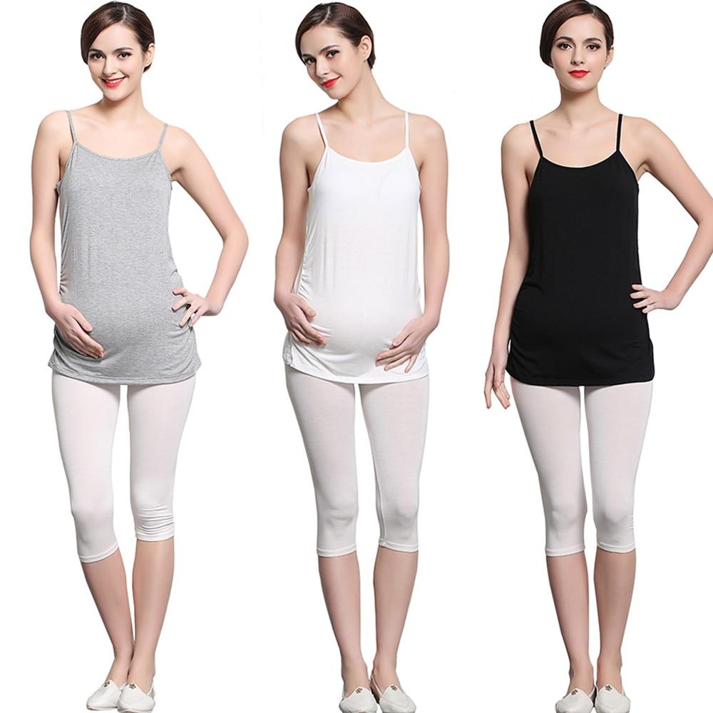 Maternity Breastfeeding Top Undershirt Camis Sleeveless Pregnant Womens Top Sleepwear Breast Pump Women Pregnant Vest