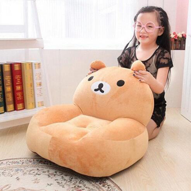 Actionclub High Quality 2015 Baby ChairSeat Cartoon Sofa Kids Bean Bag Kawaii Rabbit Bear Elephant Plush Toys Furniture In Seats From Mother