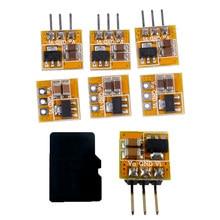 Módulo de aumento de voltaje de 0,7-5V a 3V, 3,3 V, 5V, CC, CC