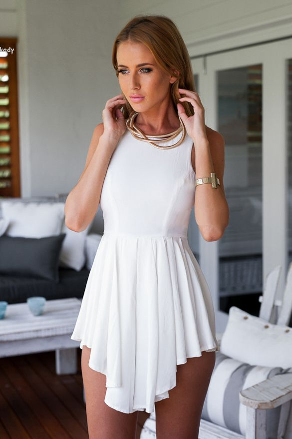 White Outfits For A Party Black Party Dresses