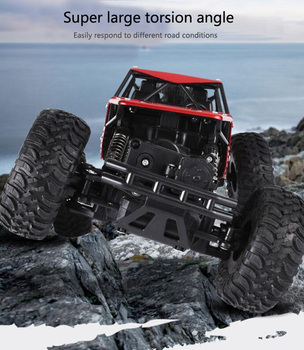 2.4 GHz 4WD Off-Road Climbing Crawler - C08S 3