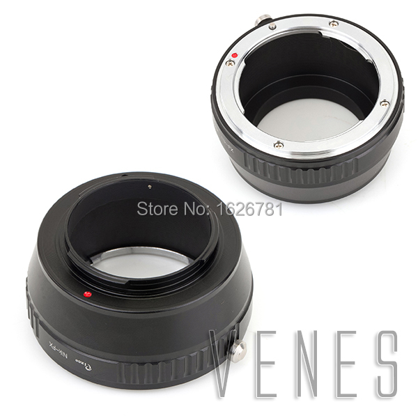 pixco Lens adapter suit for Nikon AI F to Fuji Fujifilm X T1 X A1 X