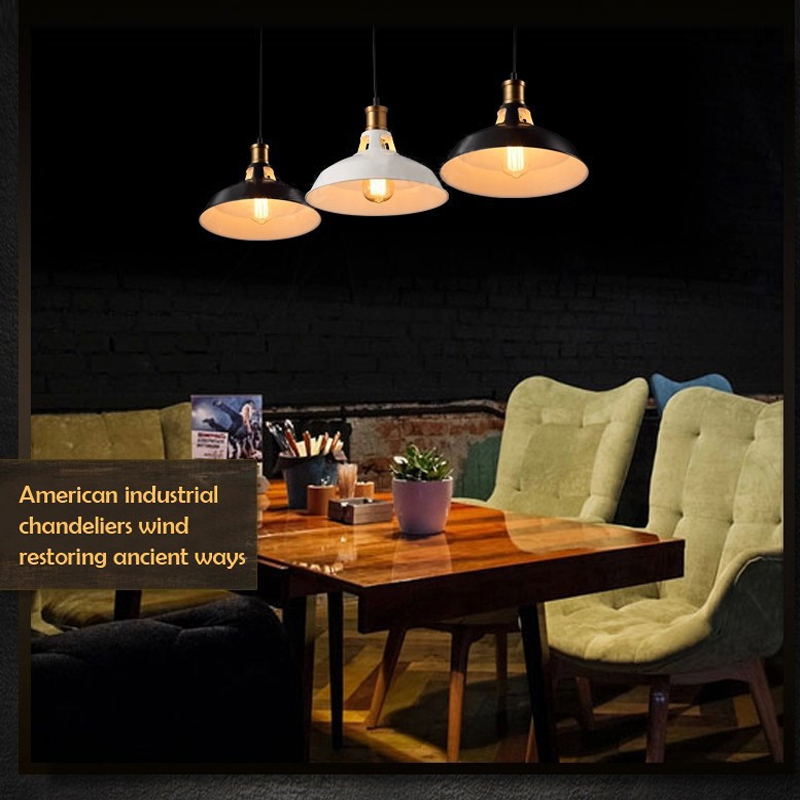 Vintage Pendant Lights Loft Russia Pendant Lamp Retro Hanging Lamp Lampshade For Kitchen Dining Bedroom Home Lighting E27