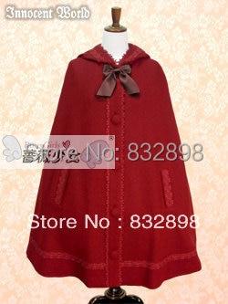 Nouveau mignon coton hiver princesse doux Lolita manteau filles hiver marque Long hiver manteau