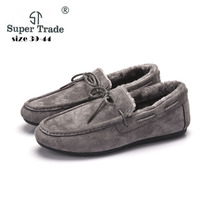 SUPER TRADE Plus Size 39 44 Casual Women Shoes Winter Women Flats Female Moccasin Shoes Women