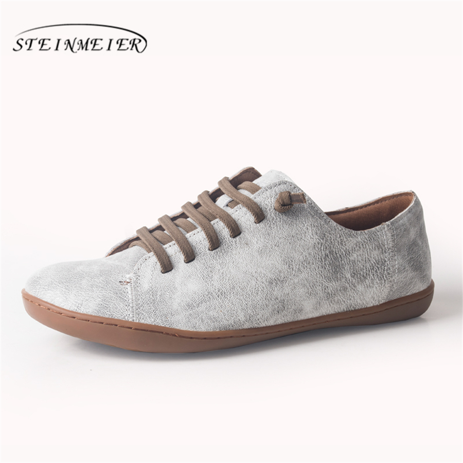 100% Genuine sheepskin leather women flat Shoes Lace up Ladies Shoes Flats Woman Moccasins Female Footwear sneakers casual shoes недорого