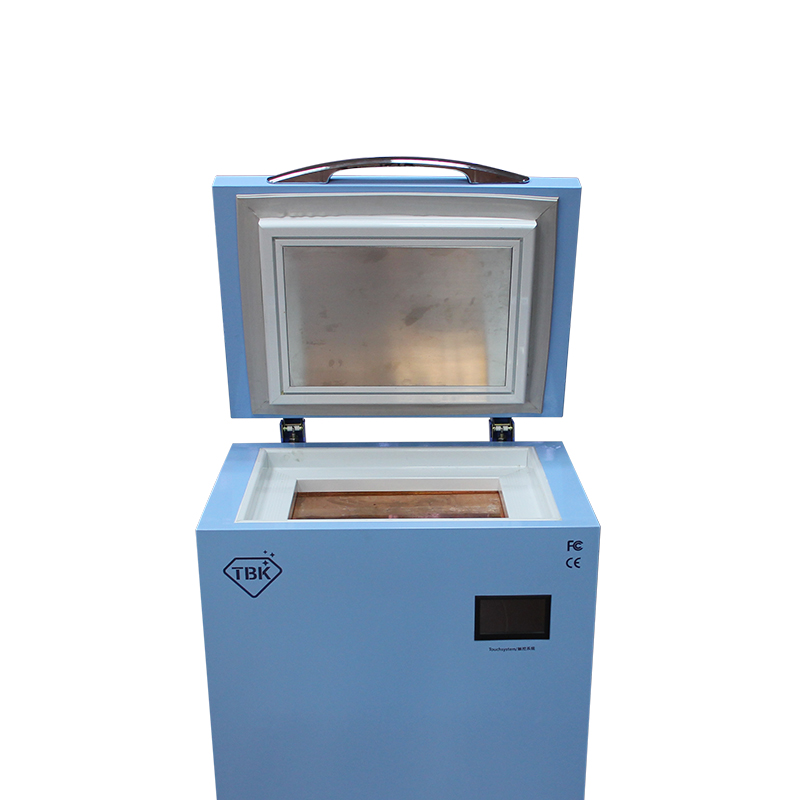 Newest TBK-588 Frozen LCD Separator -185C professional mass Freezing Machine Touch Screen Glass Separating Freezer Machine built in air vacuum pump ko semi automatic lcd separator machine for separating assembly split lcd ts ouch screen glas