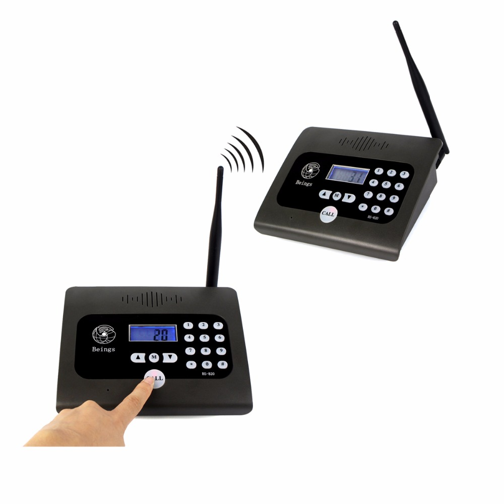400-470MHz 2 Units Two-way Desktop Radio Full Duplex Indoor Wireless Voice Calling Intercom System For Home & Office F4483H