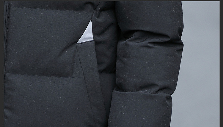 gray Inverno Casual Hiver 2018 Hommes Masculina Chaud green 4xl My699 À Parka Capuchon Taille Vêtements Plus Veste Manteau Jaqueta Black qUA0pqZ8
