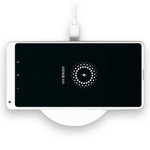 Image 4 - Original 20W Xiaomi Wireless Charger Max Qi Smart Quick Charge Type C Fast Charger for Xiaomi Mi 9 mi9 MIX 3 Smartphone