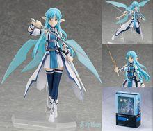 15cm High Quality Sword Art Online Model Yuki Asuna Action Figure SAO Blue Water Fairy Asuna Figure Toy
