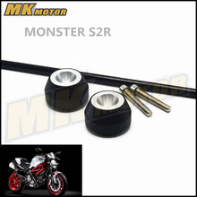 Free delivery For DUCATI MONSTER S2R 2006-2008  CNC Modified Motorcycle drop ball / shock absorber