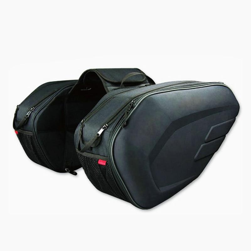 One Set Waterproof Motorcycle Saddlebags Helmet Moto Side Bag Tail Luggage Suitcase Motor Bike Fuel Tank Bags saddle bags SA212 motorcycle tail bag saddle bag luggage suitcase around motorcycle waterproof cover bag can put down helmet