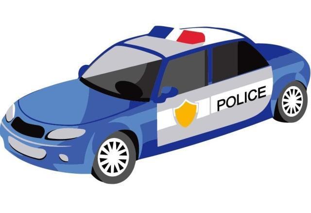 Mewarnai Mobil Polisi Coloring And Drawing