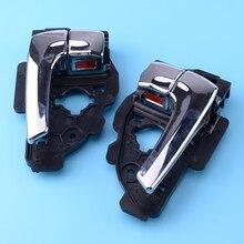 1 쌍의 자동차 스타일링 오른쪽 왼쪽 내부 도어 핸들 현대 투손 ix35에 적합 2010 2011 2012 2013 2014